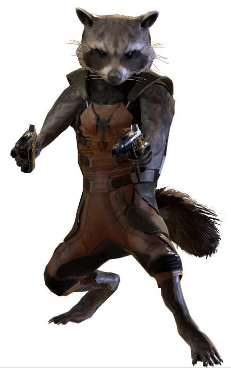Star Lord And Rocket Raccoon By Timothygreenii On Deviantart: Marvel Heroes Complete Costume List