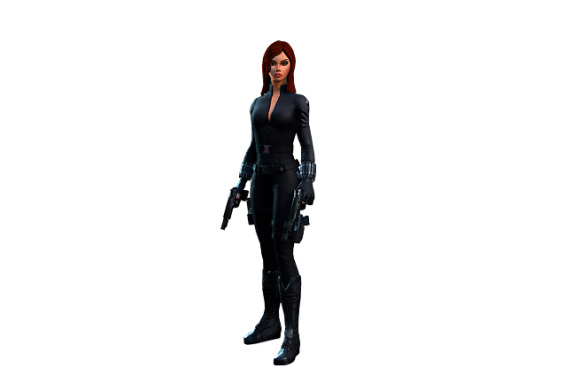 Black Widow Marvel Heroes Complete Costume List