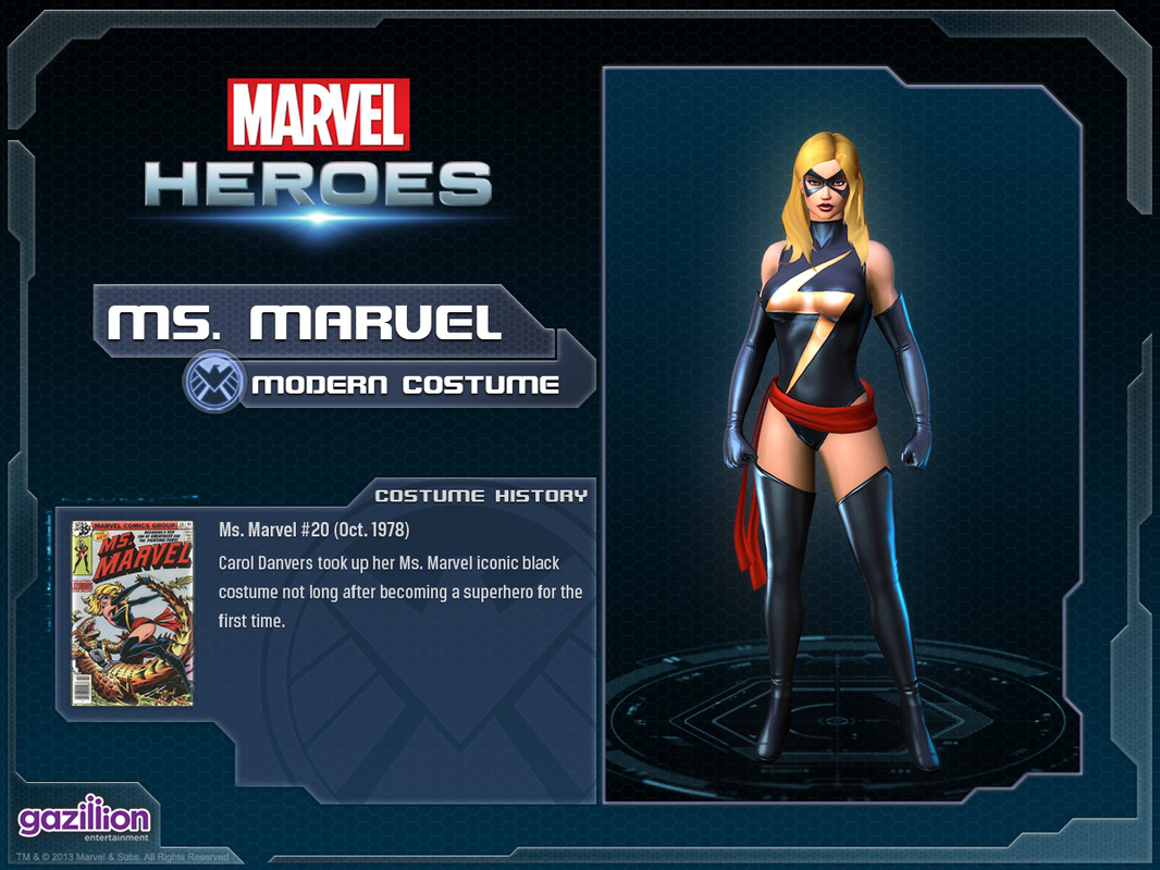 Ms Marvel Marvel Heroes Complete Costume List Warbird is a better name than captain marvel, don't @ me. ms marvel marvel heroes complete